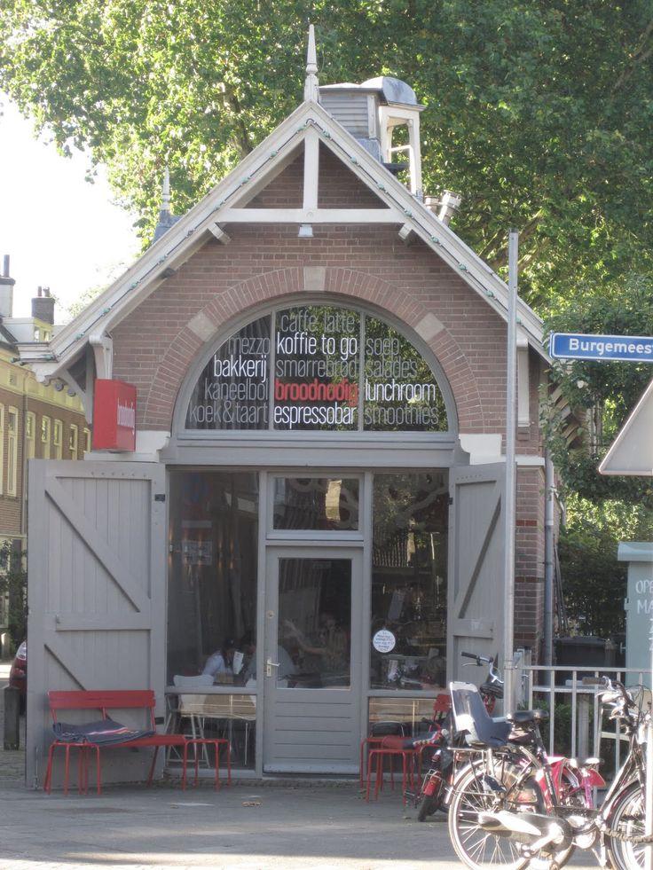BROODNODIG - lunch & coffee -  spoorhuisje utrecht oost
