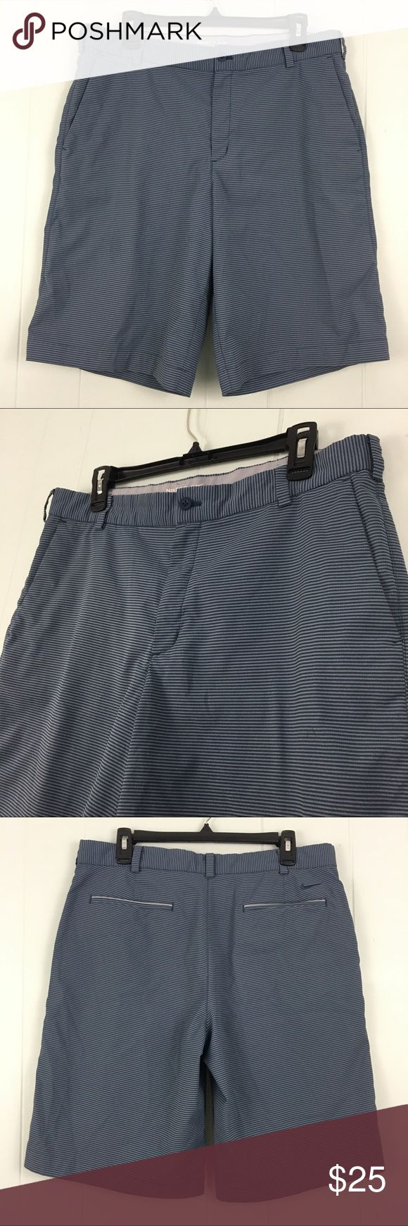 "Nike Golf Dry Fit Men's Shorts 34"" Waist Brand:  Nike Golf w/ Dry-Fit Technology  Condition:  This item is in Good Pre-Owned Condition! There are NO Major Flaws with this item, and is free and clear of any Noticeable Stains, Rips, Tears or Pulls of fabric. Overall This Piece Looks Great and you will love it at a fraction of the price!  Material:  95% Polyester 5% Spandex  Size:  34"" Waist  💥Top Rated Seller 💥Top 10% Sharer 💥Posh Mentor 💥Super Fast Shipper Nike Shorts Flat Front"