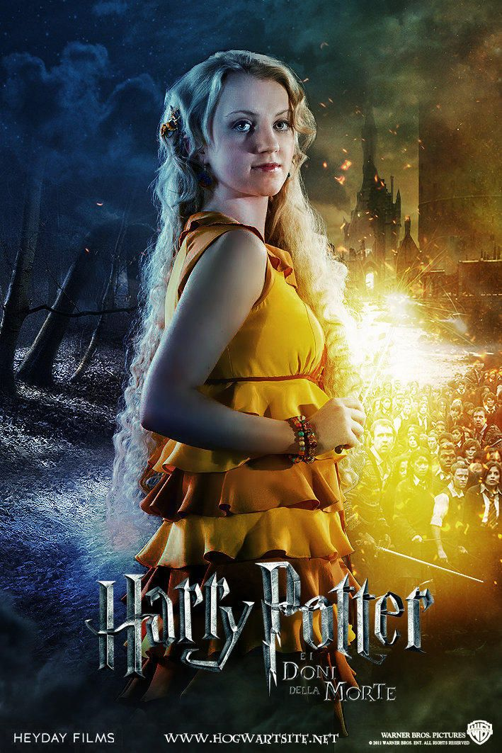 Luna Lovegood Deathly Hallows Extended By Hogwartsite Harry Potter Cast Harry Potter Luna Lovegood Harry Potter Film