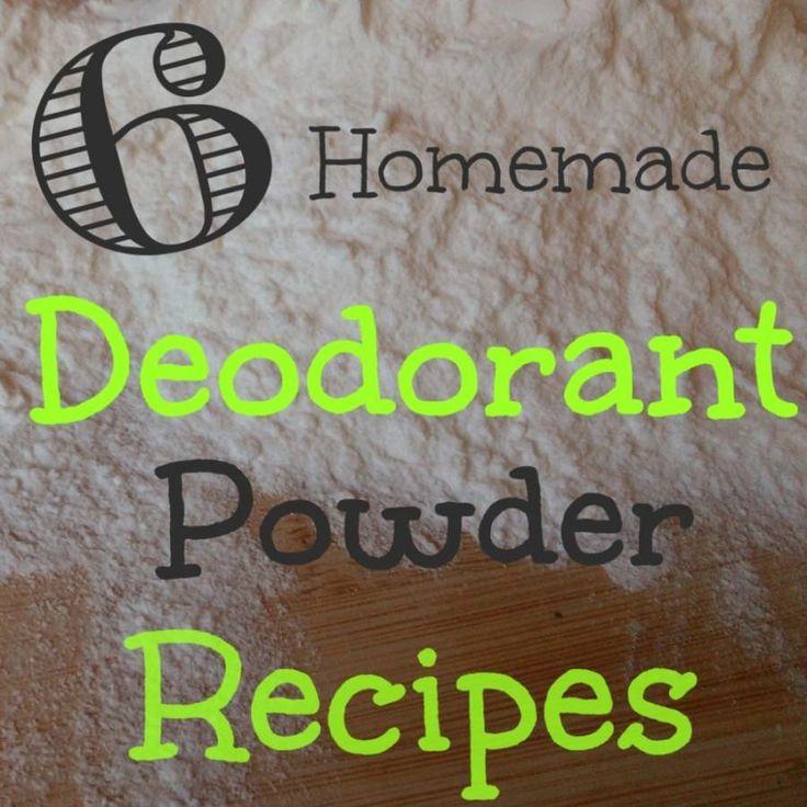 Six Homemade Deodorant Powder Recipes To Keep You Fresh