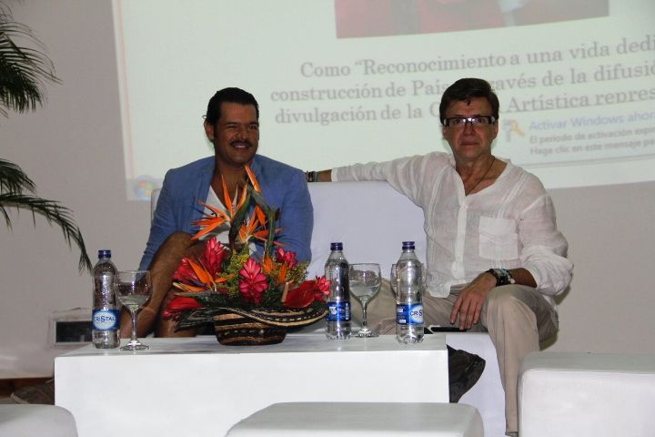 Las universidades de la ciudad Fomentando Cultura y Arte  En el Paraninfo Rafael Núñez se realizó el lanzamiento de la decima séptima versión del Festival de Arte Universitario de Cartagena.