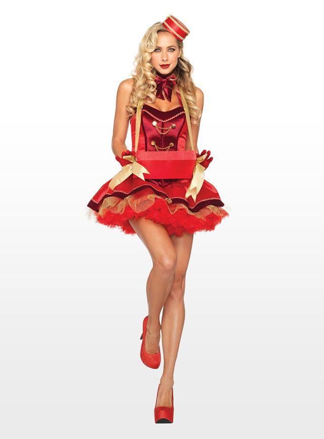 Sexy Zigaretten Lady Kostüm - Aufregend verspieltes Kostüm für einen betörenden Auftritt - maskworld.com