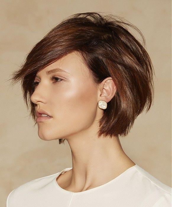VOG Short Brown Hairstyles