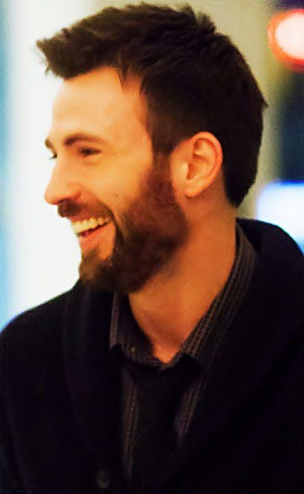 Chris Evans--that beard though :D