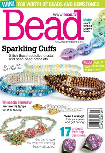 Our sister magazine, Bead & Jewellery, is full of sparkling projects! Find one of our beautiful magazines today. Pictured here is Issue 37! - Brita #BeadMeToYou