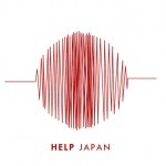 Becoming a Richter scale graphic, it alludes to the earthquake, and it forms the outline of the red sun symbol.