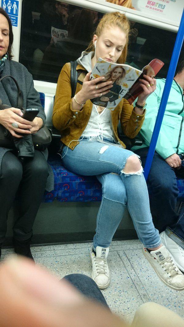 Sophie Turner in London 2016