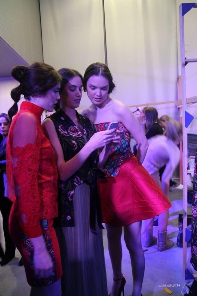 @anastasiadosi for #axdw #backstage  #lace #embroidered #handmade #brocquard #jacquard