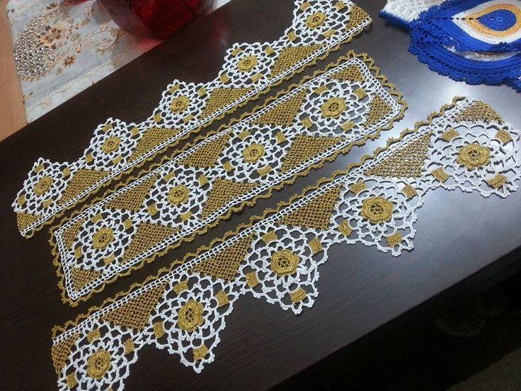 değişik dantel havlu kenarı modelleri