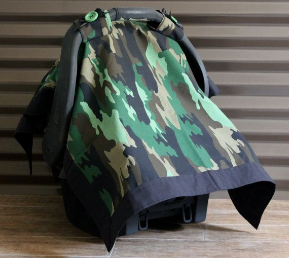 Baby Boy Camo Car Seat Cover Free Shipping By