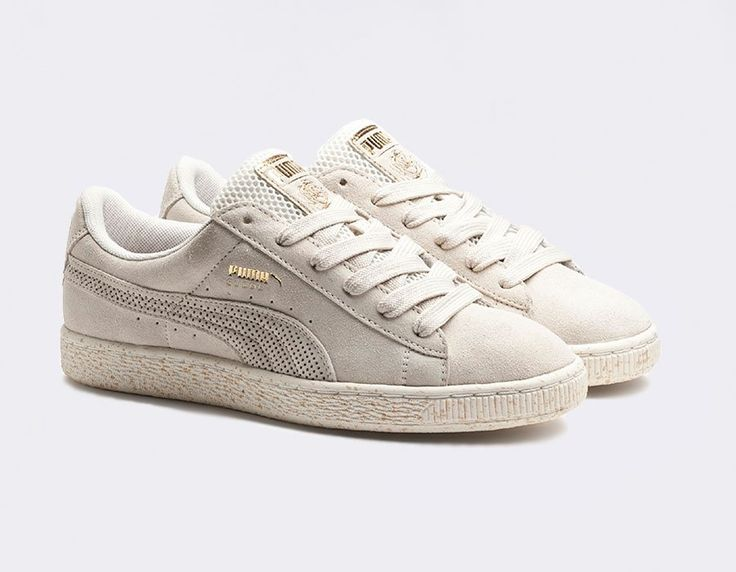 puma suede rose pale homme