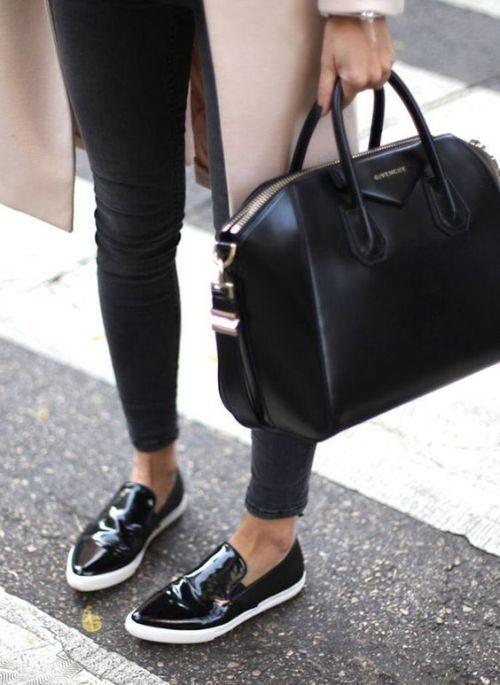 givenchy black  satchel- Givenchy handbag trends http://www.justtrendygirls.com/givenchy-handbag-trends/