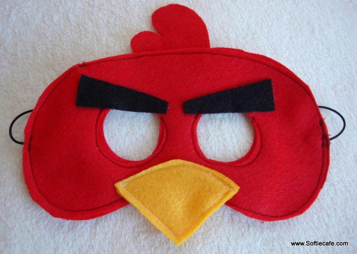 Angry birds mask