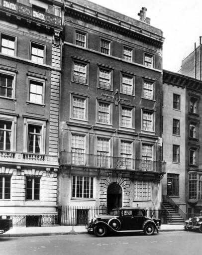 1933 ROOSEVELT HOUSE: 47-49 E. 65th St In this 1933 file photo, a car is parked in front of the town house President Franklin Delano Roosevelt and his wife Eleanor own on the Upper East Side in New York. The home is now owned by Hunter College and can be toured by the public. (AP Photo/File) The home was given to Franklin and Eleanor as a wedding gift in 1908 by FDR's mother, Sara Delano Roosevelt. Over the years, Eleanor repeatedly visited nearby Hunter College, which was a women's school…