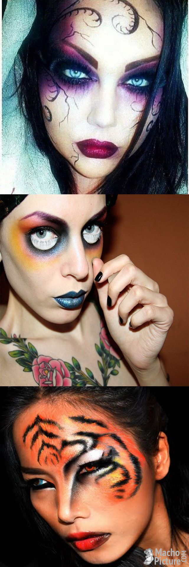professional halloween makeup