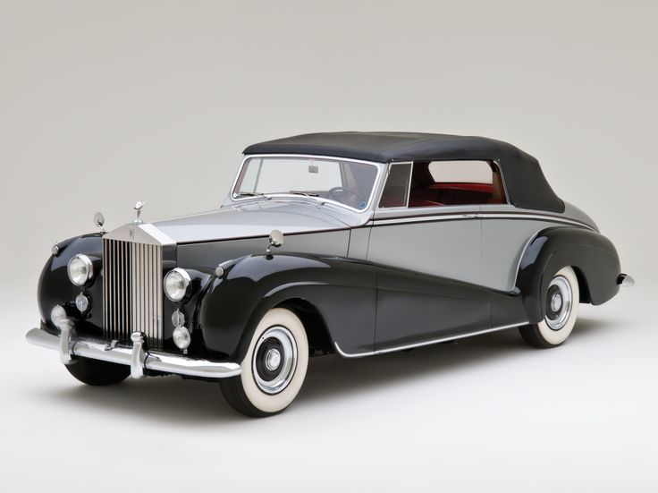 1952 Rolls Royce Silver Wraith Drophead Coupe
