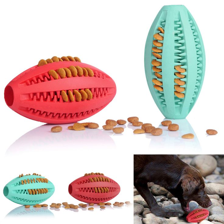 Pets Dog Toy Rubber Rugby Football Toys For Dogs Cats Goods for Dog Cat Pet Training Have Fun Diet Control Dental Massaging Ball //Price: $19.34 & FREE Shipping //     #lovepuppies #catlover #pets #hound #adorable #doglover