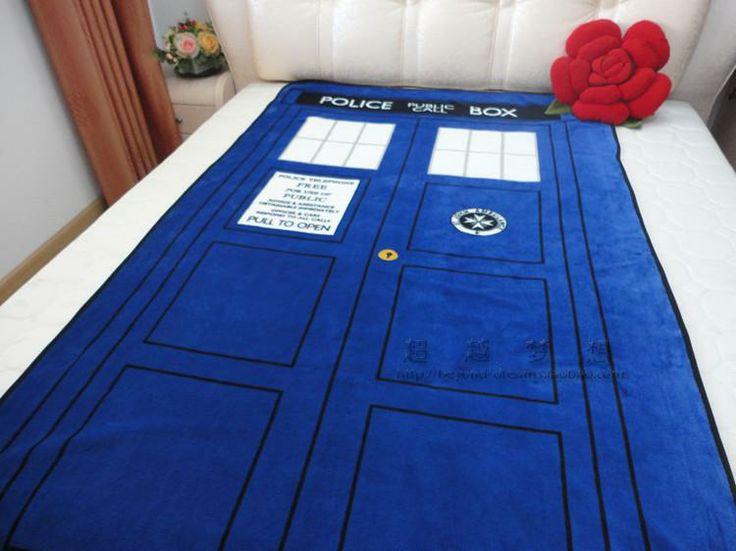 Новый Доктор Кто Одеяло