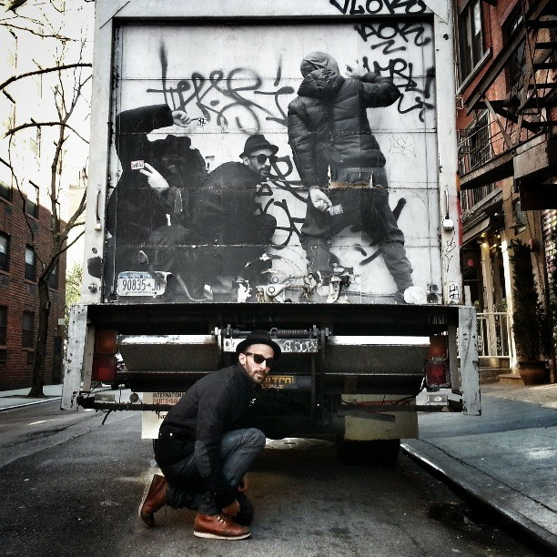 JR - Street Artist & photographer