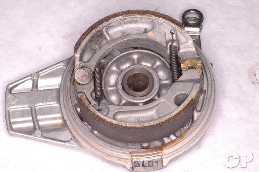 Crf150f Rear Drum Brake Shoe Replacement