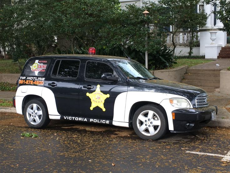 Victoria Police Department Crimestoppers Chevy HHR (Texas)