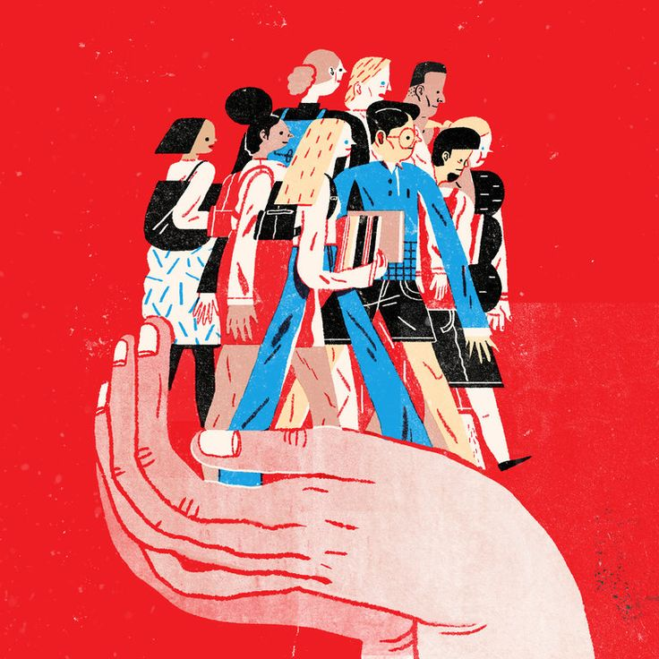 Some insist simplistically that America is already a colorblind society or, even more perversely, that ending race-conscious policies would lead the way to such a society. Fortunately, Justice Kennedy rejected that view. (Illustration: Lisk Feng)
