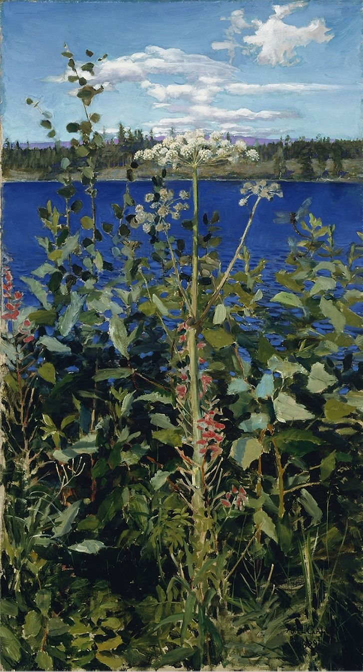 VISION (Akseli Gallen-Kallela (Finnish, 1865-1931) Wild...)