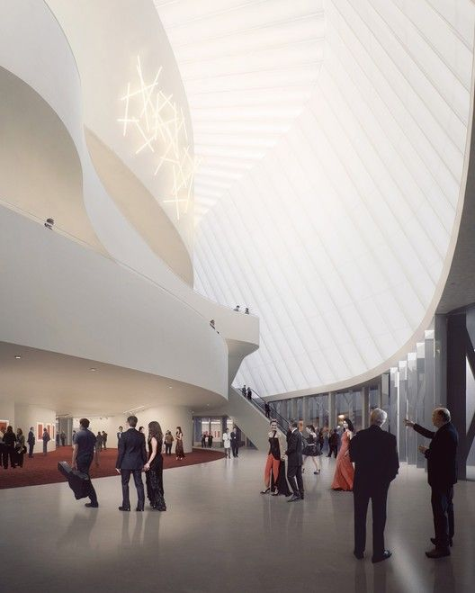 Lobby. Image Courtesy of MAD Architects