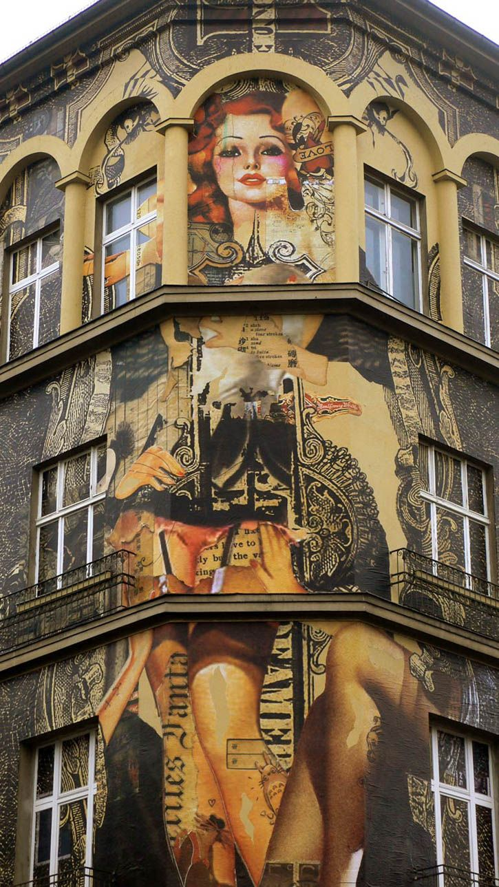 Wall project for Urban Nation, Berlin by Handiedan #mural #street #art