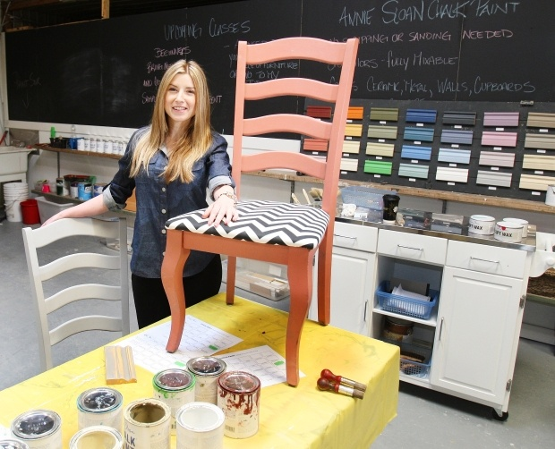 CALGARY — Tara Jamieson started refinishing furniture as a hobby, but it slowly turned into a business. And what a business it has become.