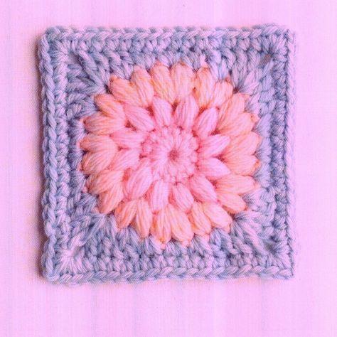Tutos 20 Modeles Grannys Fleurs Autres Formes Crochet Pour Coussin