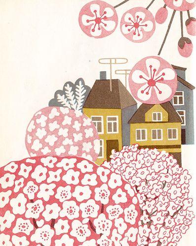 Vintage children's book 1977 - illustrated by Valli Hurt (Estonia)