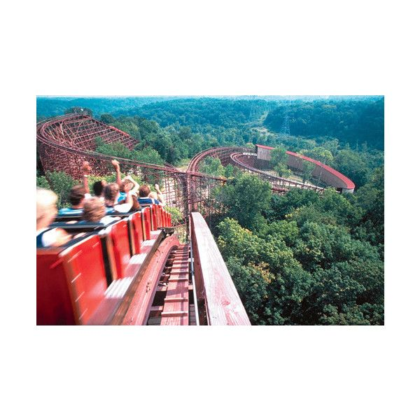 Likes | Tumblr found on PolyvoreKing Islands, Wooden Rollers, Longest Wooden, Rollers Coasters, Amusement Parks, Roller Coasters, The Beast, Thebeast, Kings Island