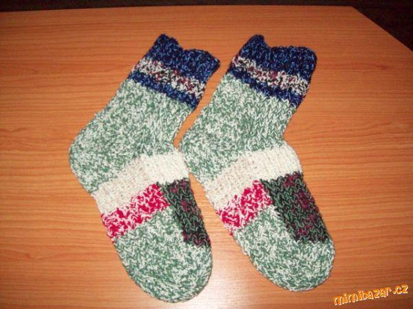 Pletení ponožek na dvou jehlicích