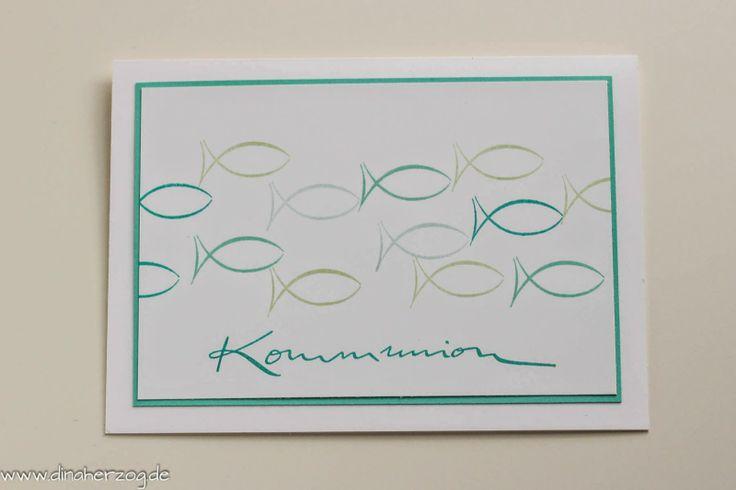 Schlichtes zur Kommunion - Schönes aus Papier handgemacht!