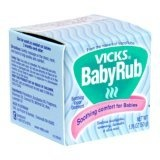 Vicks baby Rub on the soles of feet and covered with socks for a cough-less night. I tried this on Brady last night and it worked for a good few hours. Good to know.