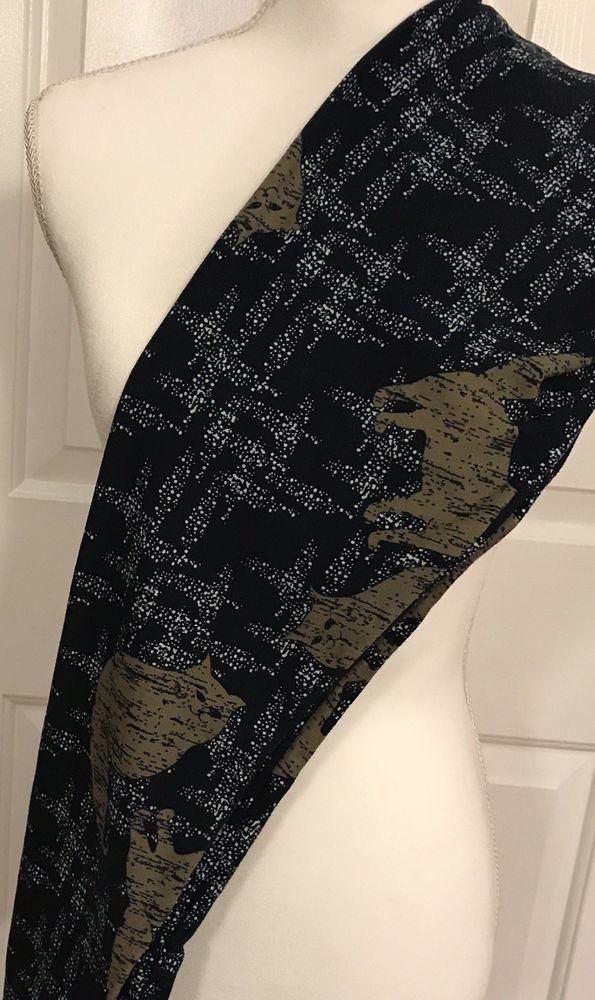 03911bfc10f49c LulaRoe Leggings TC Cats Dark Navy Blue Tan Rare Unicorn Tall & Curvy LLR  Pants #LuLaRoe #Footless #Casual