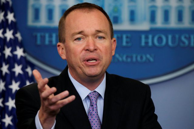 Mick Mulvaney, director of the White House's Office of Management and Budget, tried to defend an arithmetic error identified by center-left economist Lawrence Summers.