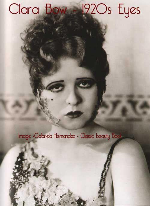 Uma Breve História da Maquiagem dos Olhos   – 1920s