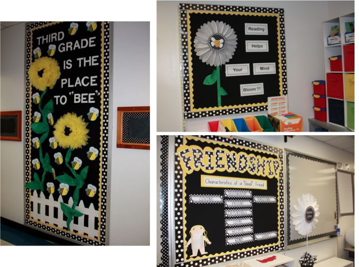 Classroom Theme Ideas Bees ~ Come check out my school classroom displays display