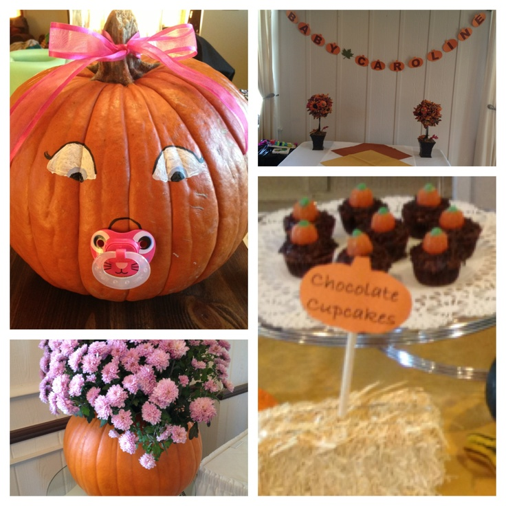 Little Pumpkin Baby Shower Perfect I Love Fall And I