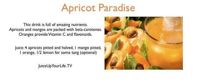 Apricot Paradise Juice