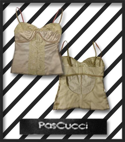 Drape & Dazzle  PasCucci Lace Embellished Corset  Size: 10  Price: $20