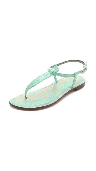 Love these!    I Buy them every summer! Sam Edelman Gigi Thong Sandals