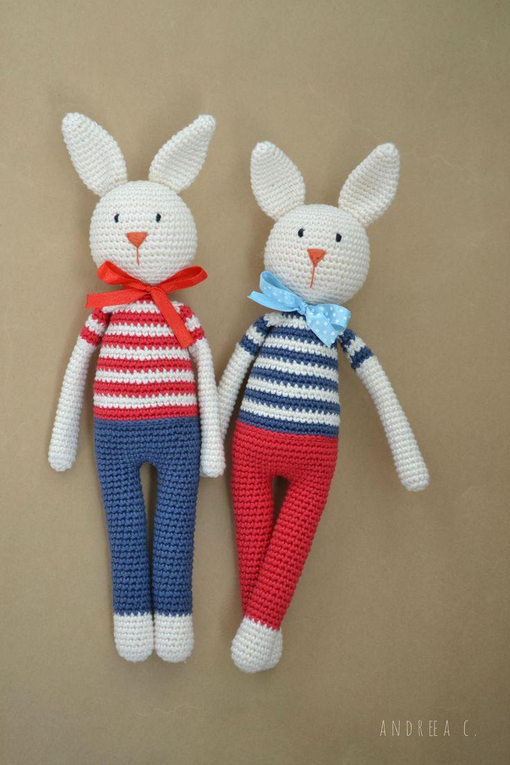 #crochet #amigurumi #rabbit