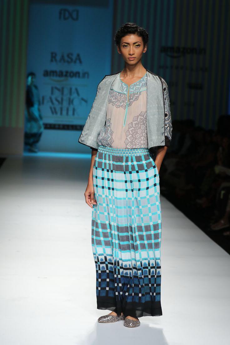 #AIFWSS16 #RasaJaipur #spring #summer #fusion #Indian #sensibility #aesthetics #prints #traditional #contemporary #modern #twist #versatile #casual #urban #sharp #easy #comfortable