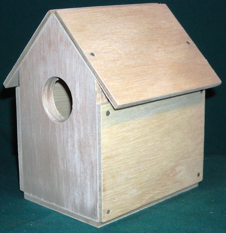 Bird House Kit-- Nail Together Scout Project by alanjohnston on Etsy