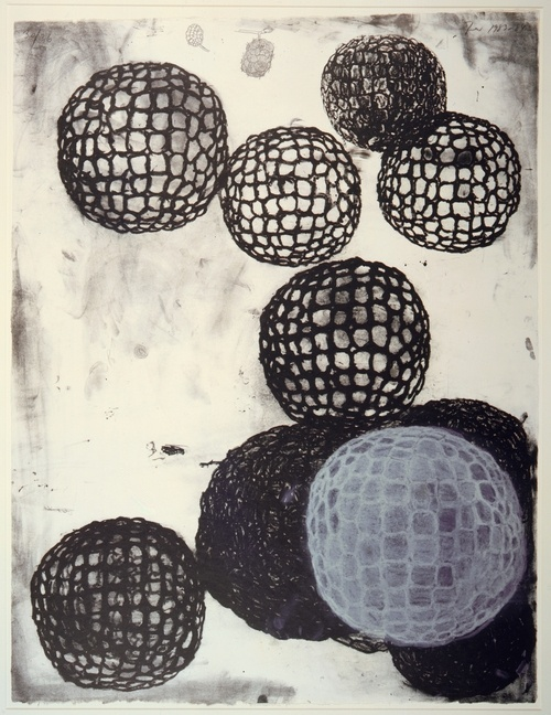 I just fell in love with tthis Lithograph. Morula III by Terry Winters, 1983-84, three-colour lithograph.