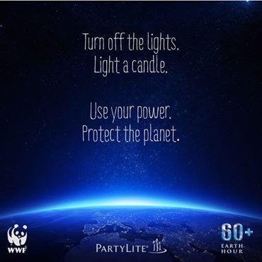Häng med på PartyLites Earth Hour partyn den 29 mars! Fråga din Konsult om mer information och registrera dig här http://bit.ly/1oPHtQE