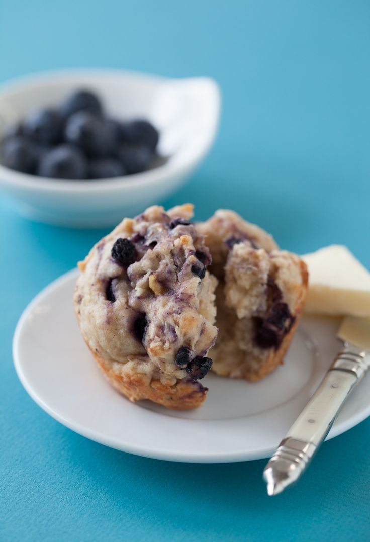 #Epicure Gluten-free Banana-Blueberry Muffins #portioncontrol